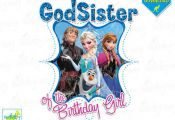 GodSister of the Birthday Girl Frozen Printable Iron On Transfer or Use as Clip ...