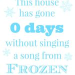 Holy Craft: Disney Frozen printable free printable