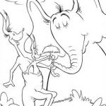 Horton Hears A Who Coloring Page Dr Seuss Coloring Pages 12 ...