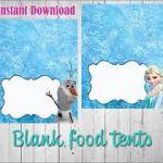Image result for frozen free printables food labels                             ...