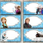 Image result for frozen party food labels free printable