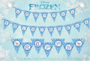 Instant Download Disney Frozen Banner -   This listing its for a Happy Birthday ...
