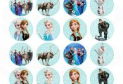 Items similar to Frozen Inspired Disney Birthday Hershey Kisses Stickers Labels ...