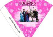 "Kit de Aniversário ""Frozen-Disney"" Pink para Imprimir - Convites Digitais Simpl..."