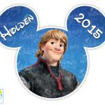 Kristoff Disney Frozen Printable Iron On Transfer or Use as Clip Art, DIY Disney...