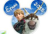 Kristoff and Sven Disney Frozen Printable Iron On Transfer or Use as Clip Art, D...