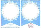 Mamá Decoradora: Kit imprimible Frozen Gratis