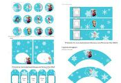 Nice Frozen Free Printable Kit. Pages and pages of printables