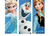 ON SALE 25% OFF Instant Download Digital frozen Printable Birthday Party bookmar...