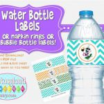 Olaf Inspired Water Bottle Labels Luau Party by FantasylandBoutiq..., $1.49   Fr...