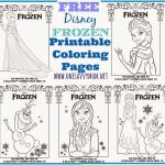 One Savvy Mom™ | NYC Area Mom Blog : Disney Frozen Free Printable Anna, Elsa a...