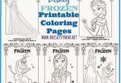 One Savvy Mom™   NYC Area Mom Blog : Disney Frozen Free Printable Anna, Elsa a...