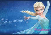 Personalised Elsa from Frozen Printable Digital by PrintaBubble, £4.84