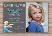 Personalised Frozen Birthday Invitation  Frozen by CeMariePrints, £6.00