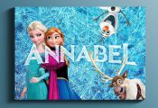Personalised Gifts Ideas  : Disney Frozen Printable Art / Personalized Frozen Na...