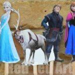 Popsicle Stick Puppets Frozen Printables | AllFreeKidsCrafts...