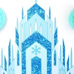 Quick & Easy DIY Frozen Inspired Backdrop - learn to create this stunning, aweso...