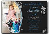 SALE Frozen Invitation, Frozen Birthday Invitation, Frozen printable Invitation,...