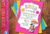 SUMMER FROZEN Printable INVITATION, Custom Frozen Invitation For Girls Birthday ...