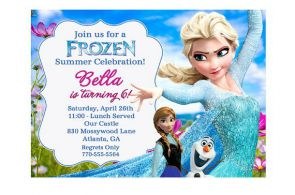 SUMMER Frozen Printable Birthday Party by squigglestudio on Etsy, $6.99