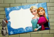 So Cute Frozen Free Printable Invitations.