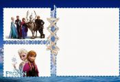 Some great blank Frozen invites to use as you please. They have some really awes...