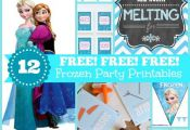 These FREE Frozen party printables will be the perfect addition to your celebrat...