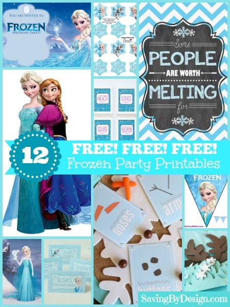 These-FREE-Frozen-party-printables-will-be-the-perfect-addition-to-your-celebrat These FREE Frozen party printables will be the perfect addition to your celebrat... Cartoon