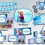 This is perfect for Jamie's Party! Frozen Printable Party Package by DigiPar...