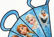 Tons of frozen printables Free Printable Frozen Boxes for Parties.