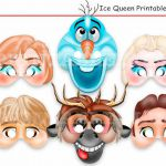 Unique Frozen Printable Masks+Bonus,party masks,birthday,decoration,invitation,A...