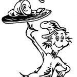 beautiful dr seuss coloring page free