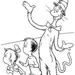 dr seuss coloring pages cat in the hat - Printable Coloring Pages