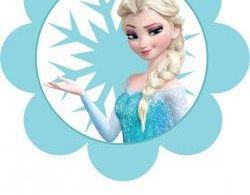 {free} printable Frozen Banner (2)