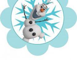 {free} printable Frozen Banner (3)