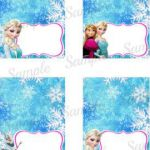 frozen food labels free printables