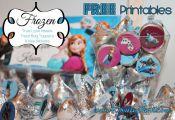 frozen free printables | Free Frozen Valentine's Day Printables #Frozen #TreatBa...