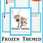 frozen printables