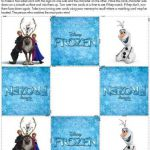 memory cards Free Frozen Printables - Inspired By Dis