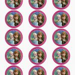 the best frozen party printables