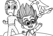 Printable PJ Masks Coloring Pages