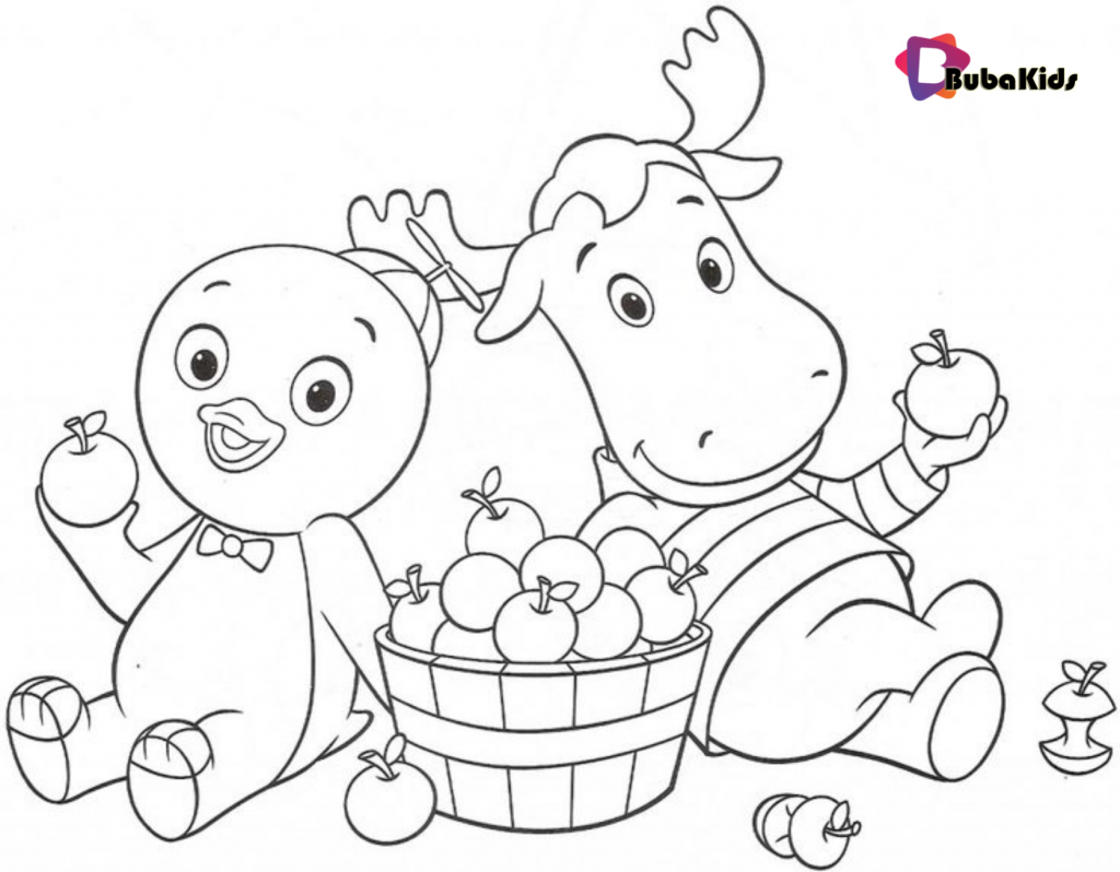 Backyardigans-Coloring-Pages-For-Kids-Printable-1024x798 Backyardigans Coloring Pages For Kids Cartoon