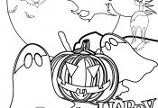 Nightmare Halloween Coloring Pages