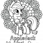 Applejack My Little Pony Coloring