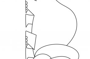 Pachyrhinosaurus Dinosaurs Coloring Page BubaKids