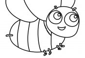 Bumble Bee Coloring Page Bubakids
