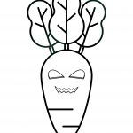 Creepy Carrot Coloring Page