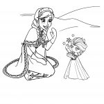 Disney Princess Anna Coloring Page