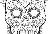 La Calavera Catrina Coloring Page