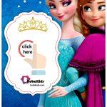 Printable Elsa Frozen Birthday Card Invitation Template